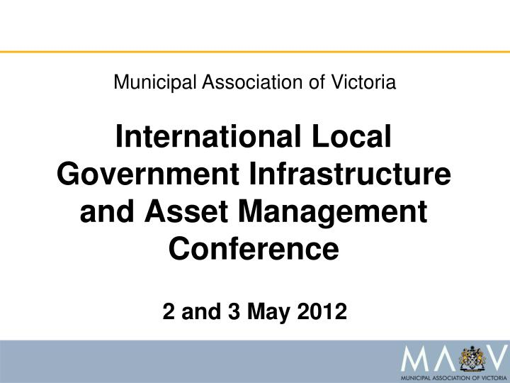 Municipal Association of Victoria