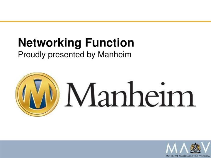 Networking Function
