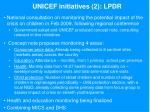 unicef initiatives 2 lpdr