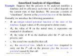 amortized analysis of algorithm s18