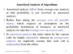 amortized analysis of algorithm s2