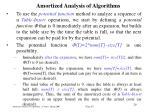 amortized analysis of algorithm s27