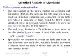 amortized analysis of algorithm s29