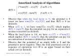 amortized analysis of algorithm s31
