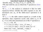 amortized analysis of algorithm s33