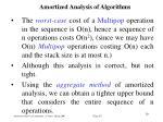 amortized analysis of algorithm s8
