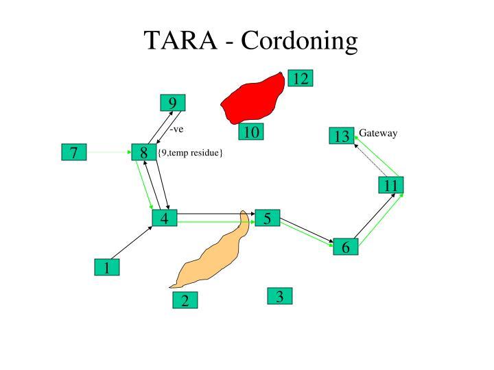 TARA - Cordoning