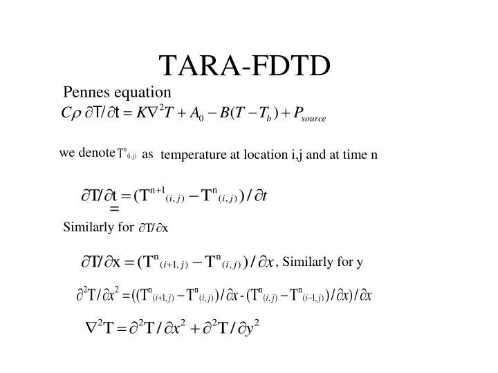 TARA-FDTD