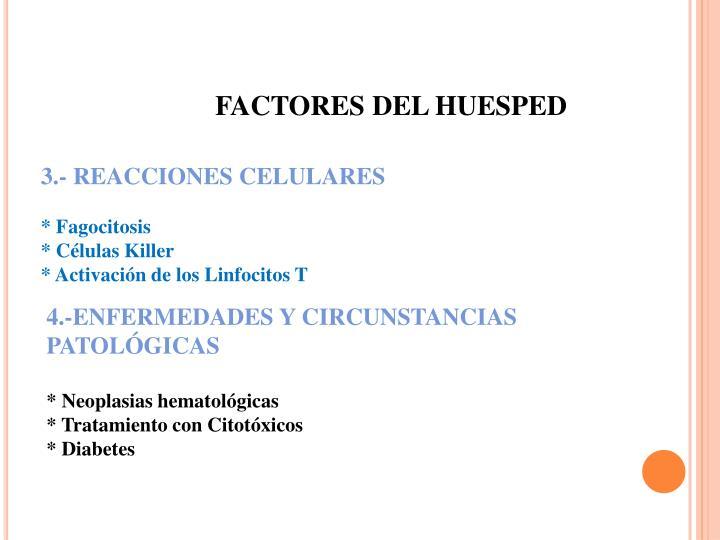 FACTORES DEL HUESPED