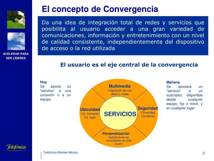 El concepto de Convergencia