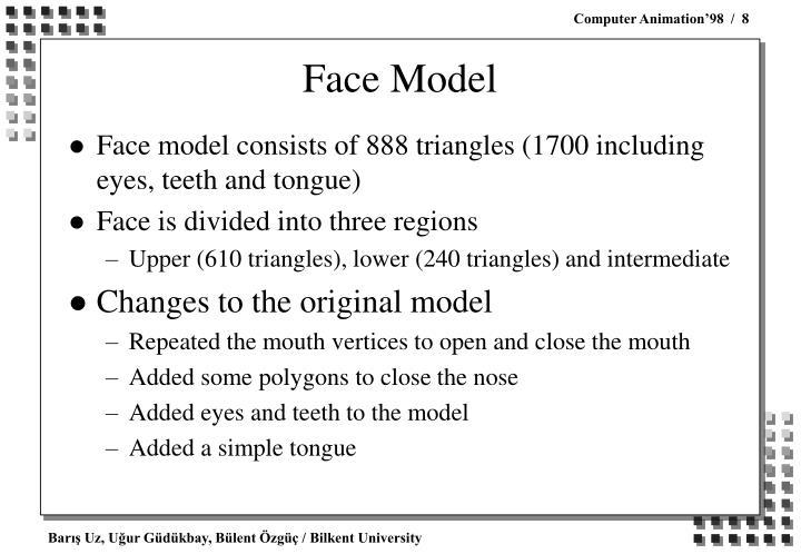 Face Model