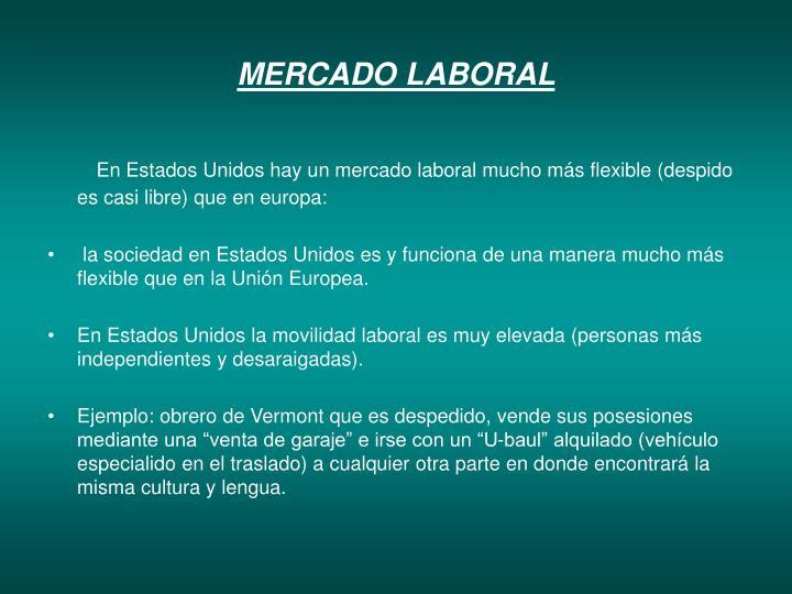 MERCADO LABORAL
