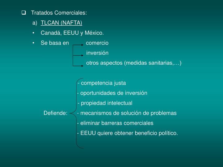 Tratados Comerciales: