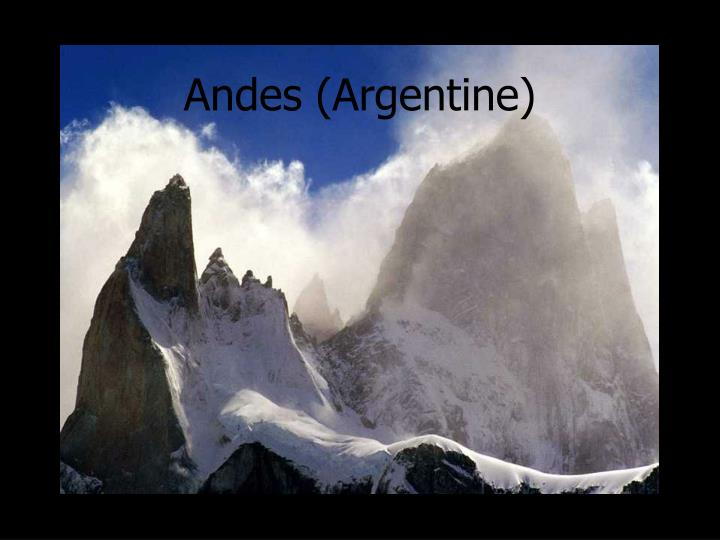 Andes (Argentine)