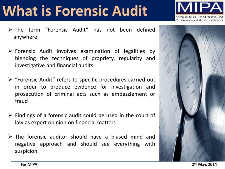 What is Forensic Audit