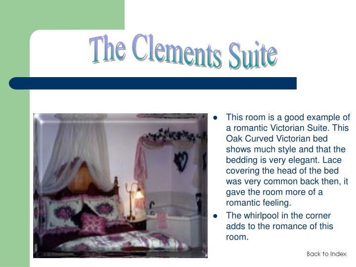 The Clements Suite