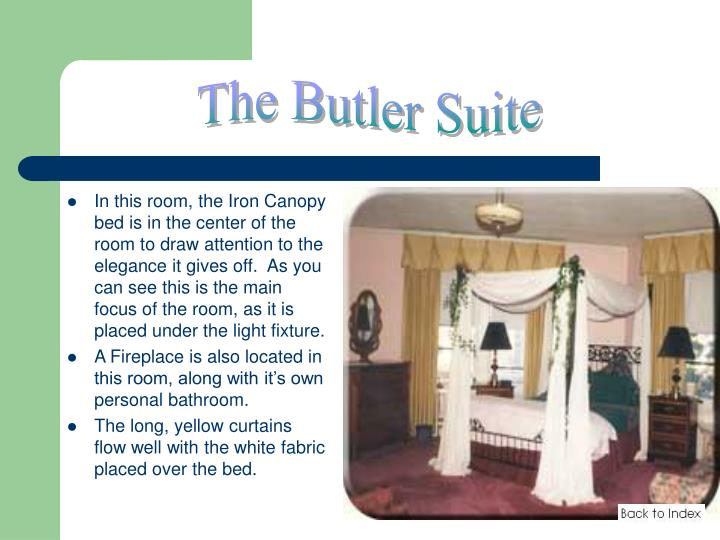The Butler Suite