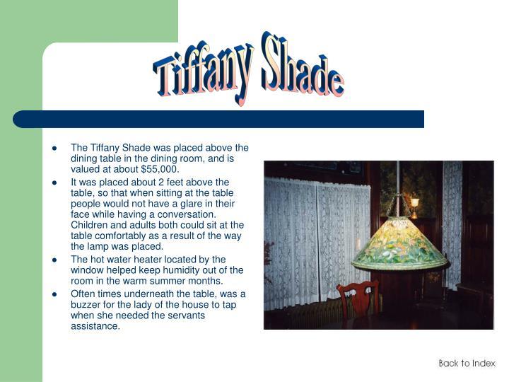 Tiffany Shade