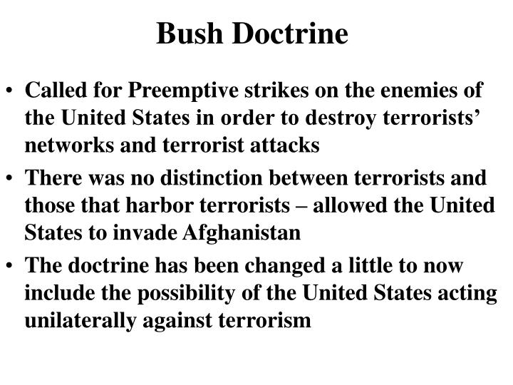 Bush Doctrine