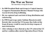 the war on terror the united states foreign involvement