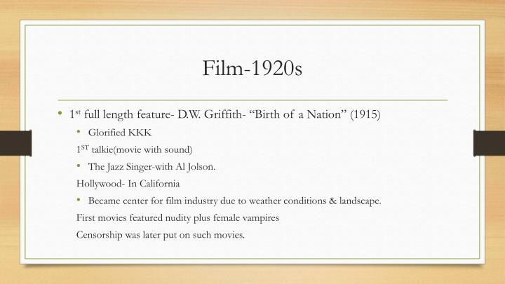 Film-1920s
