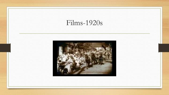 Films-1920s