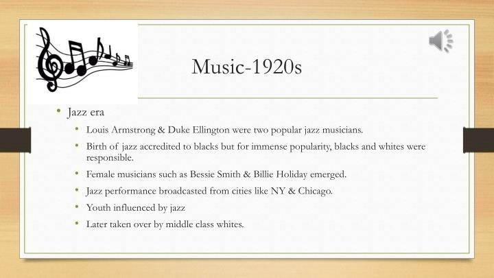 Music-1920s