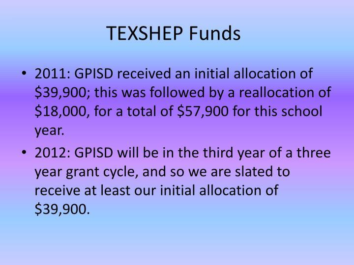 TEXSHEP Funds