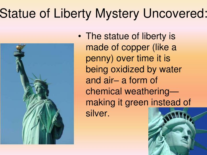Statue of Liberty Mystery Uncovered: