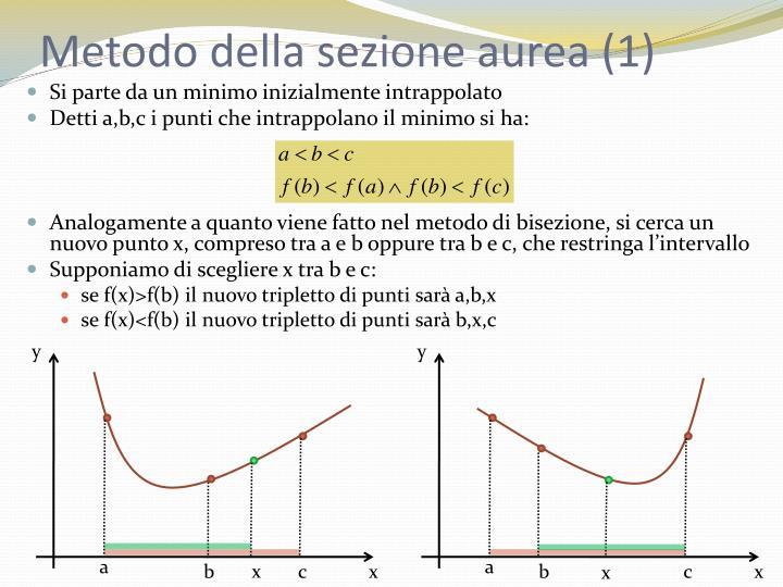 Metodo della sezione aurea (1)
