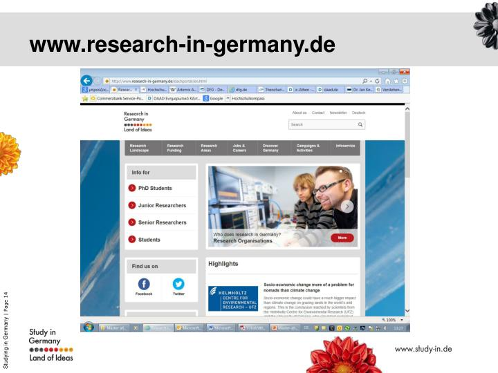 www.research-in-germany.de