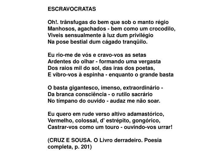 ESCRAVOCRATAS