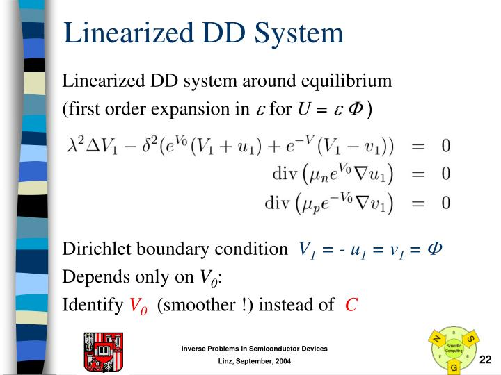 Linearized DD System