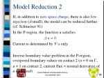 model reduction 2