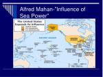 alfred mahan influence of sea power