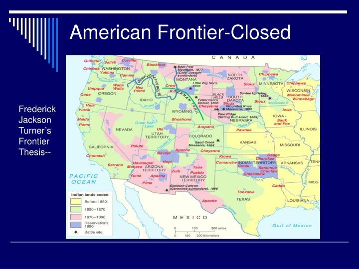 American Frontier-Closed