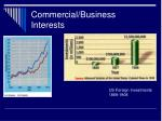 commercial business interests