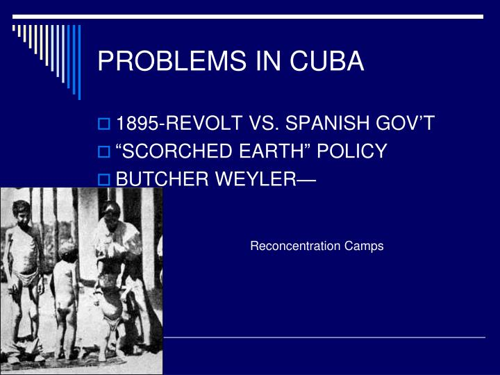 PROBLEMS IN CUBA