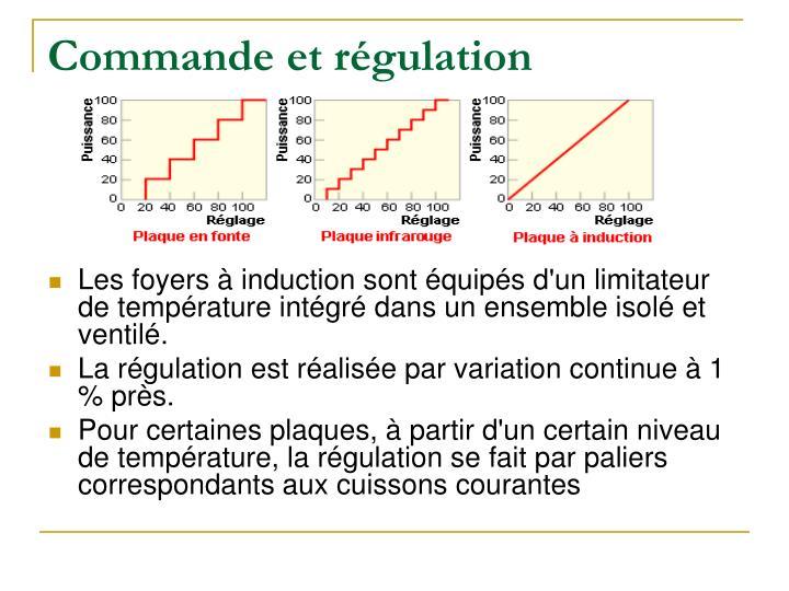 Commande et régulation