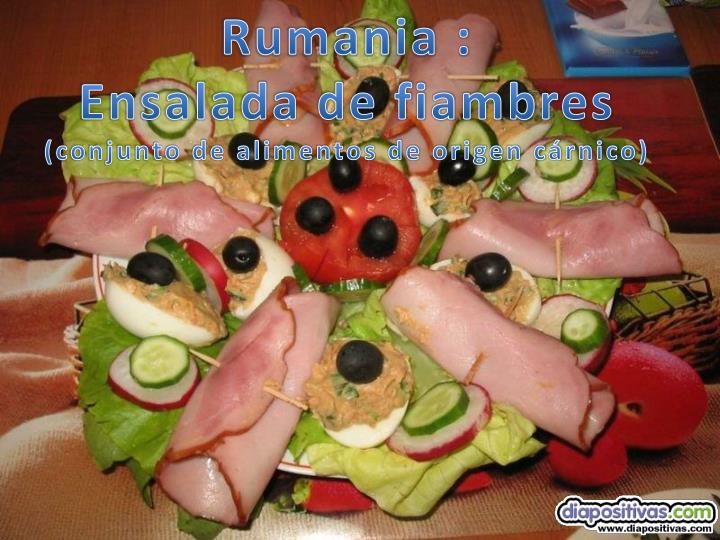 Rumania :
