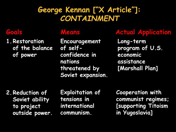 "George Kennan [""X Article""]"