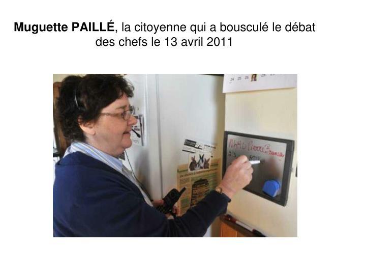 Muguette PAILLÉ