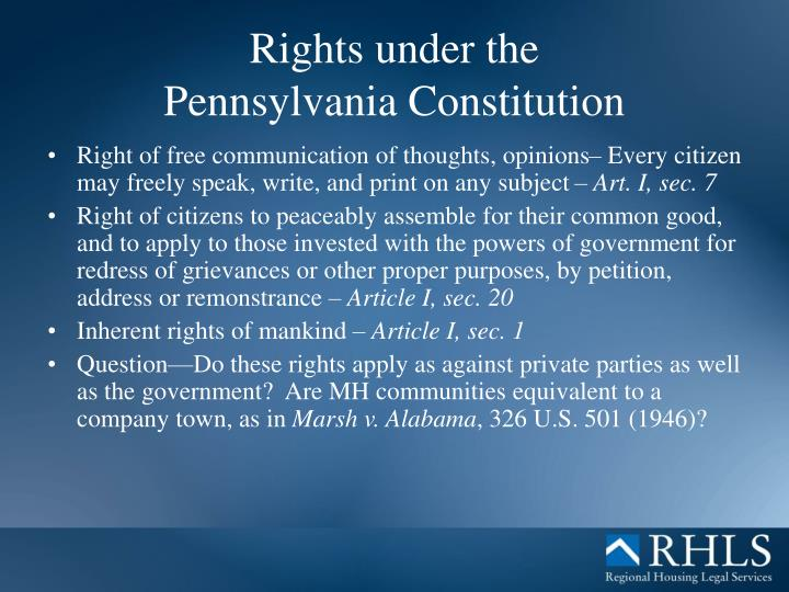right to housing under the constitution This article is brought to you for free and open access by the washington college  of law journals & law reviews at digital commons @.