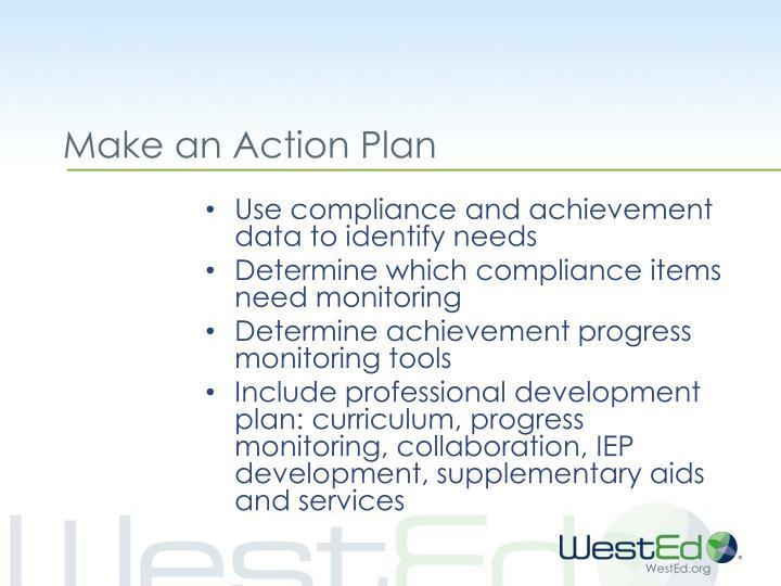 Make an Action Plan
