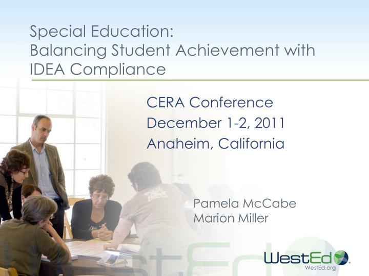 Special education balancing student achievement with idea compliance