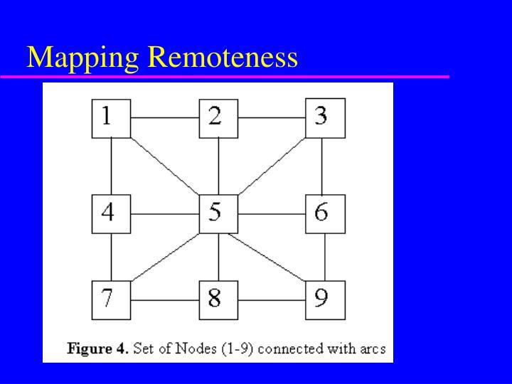 Mapping Remoteness