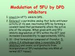 modulation of 5fu by dpd inhibitors
