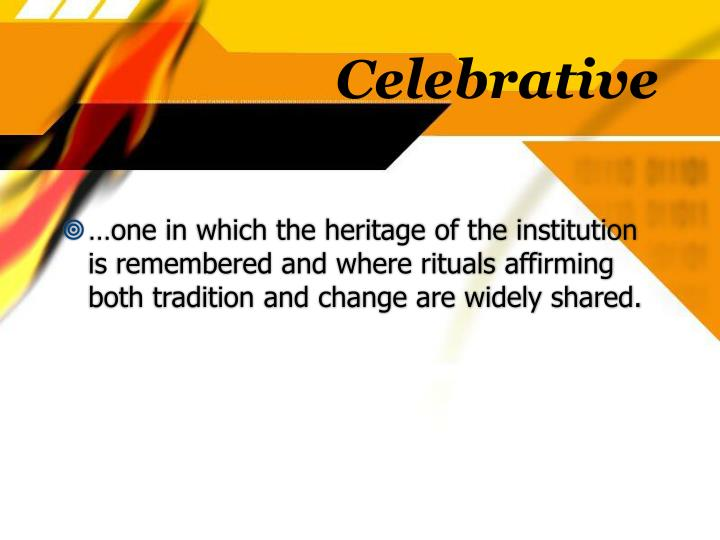 Celebrative