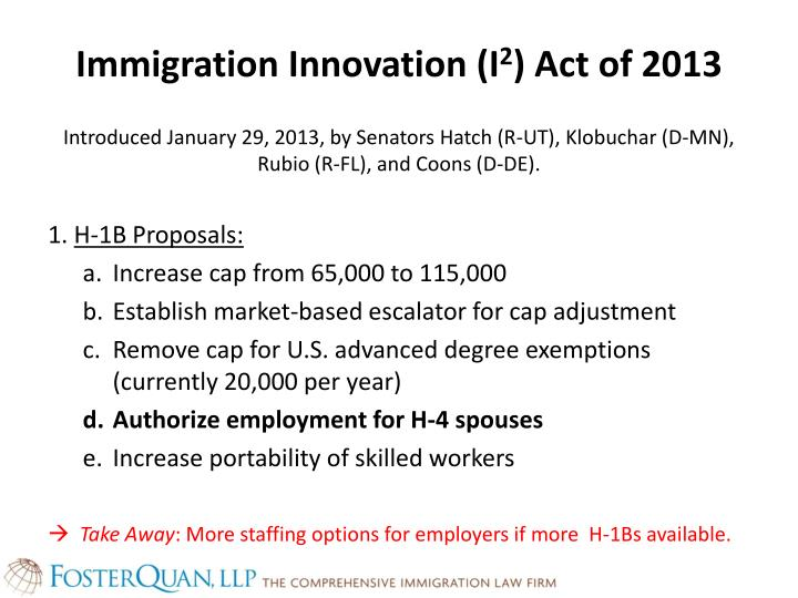 Immigration Innovation (I