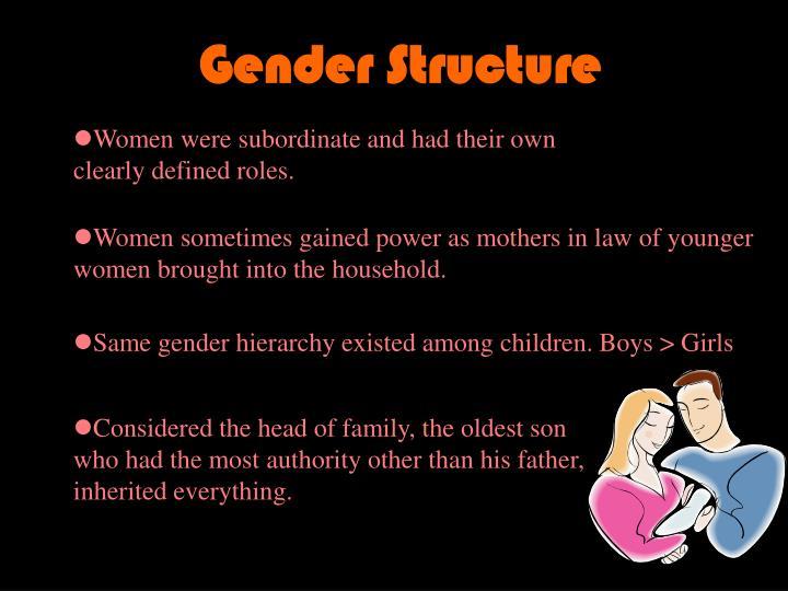 Gender Structure